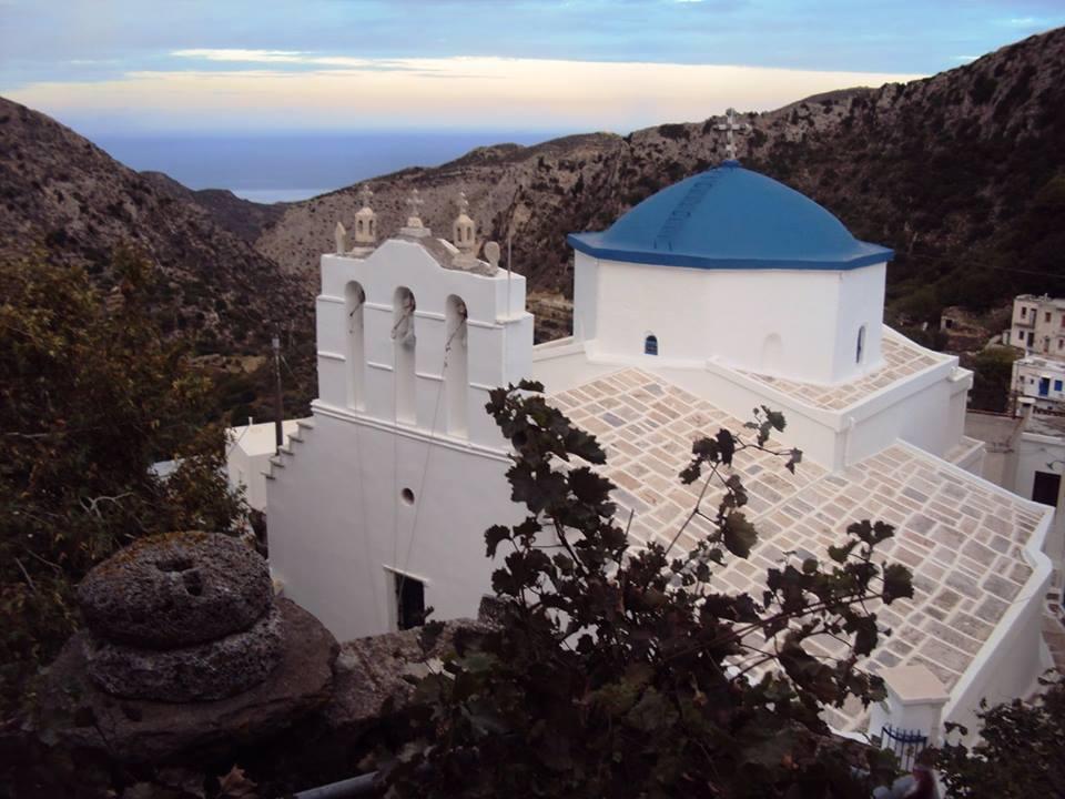 Byzantine Monuments of Naxos island Greece