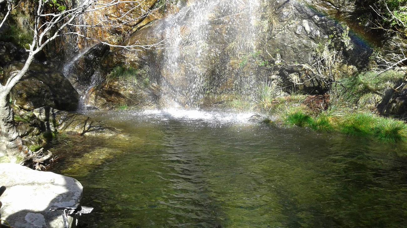 ELaiolithos – Keramoti – Routsouna Falls and back to Elaiolithos from the same route